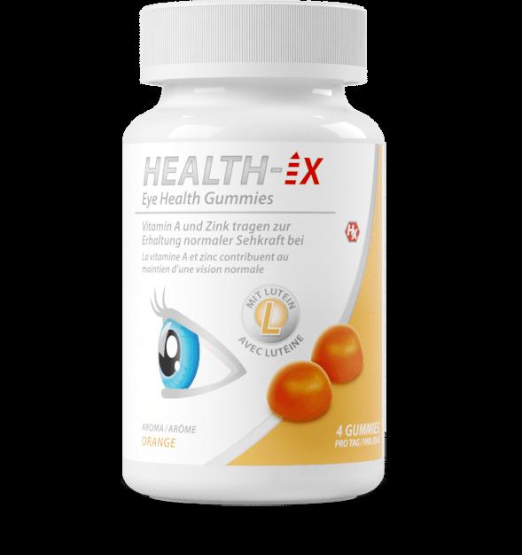 Product packaging of the Eye Health Gummies